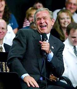 George W. Bush is an idiot