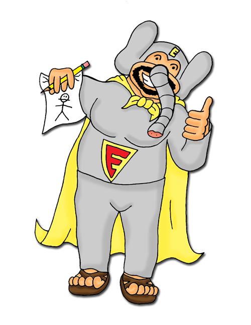 Learn to draw like Elephant Boy