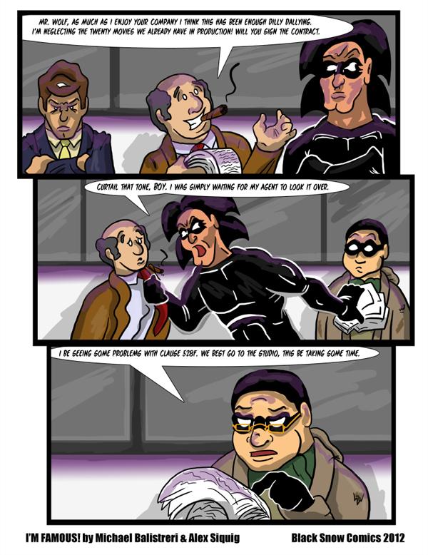 I'm Famous! Comic