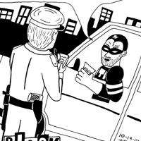 Black Snow the Comic Strip