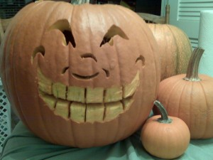 My killer Jackolantern.