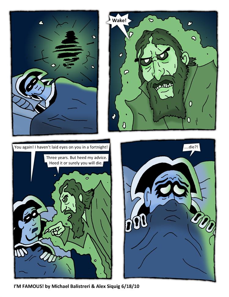 Rasputin Appears to the Lone Wolf