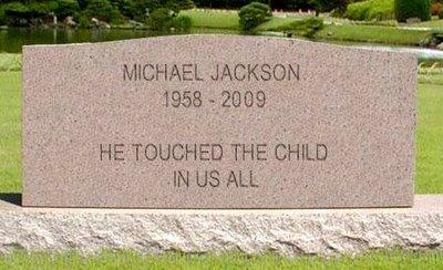 Michael Jackson Tombstone