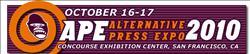 alternative press expo ape 2010 logo