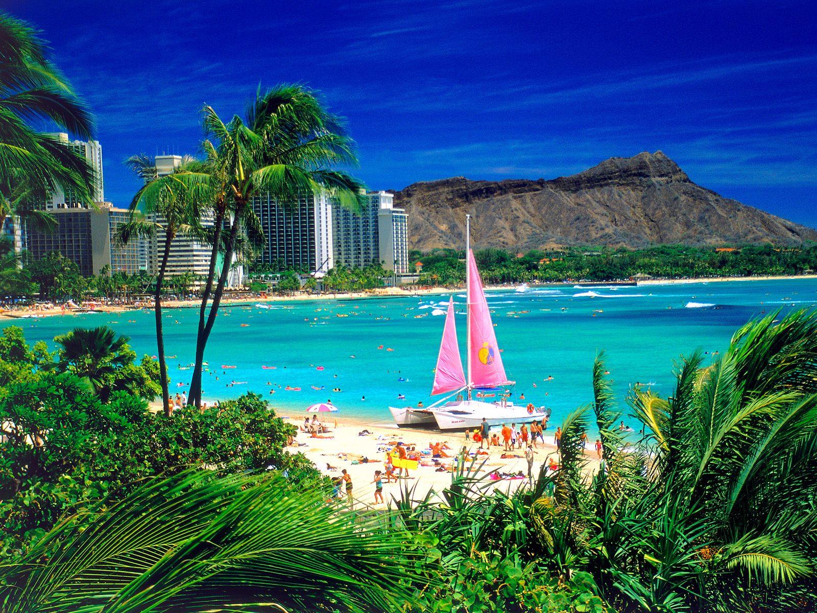 Waikiki, Ohau, Hawaii