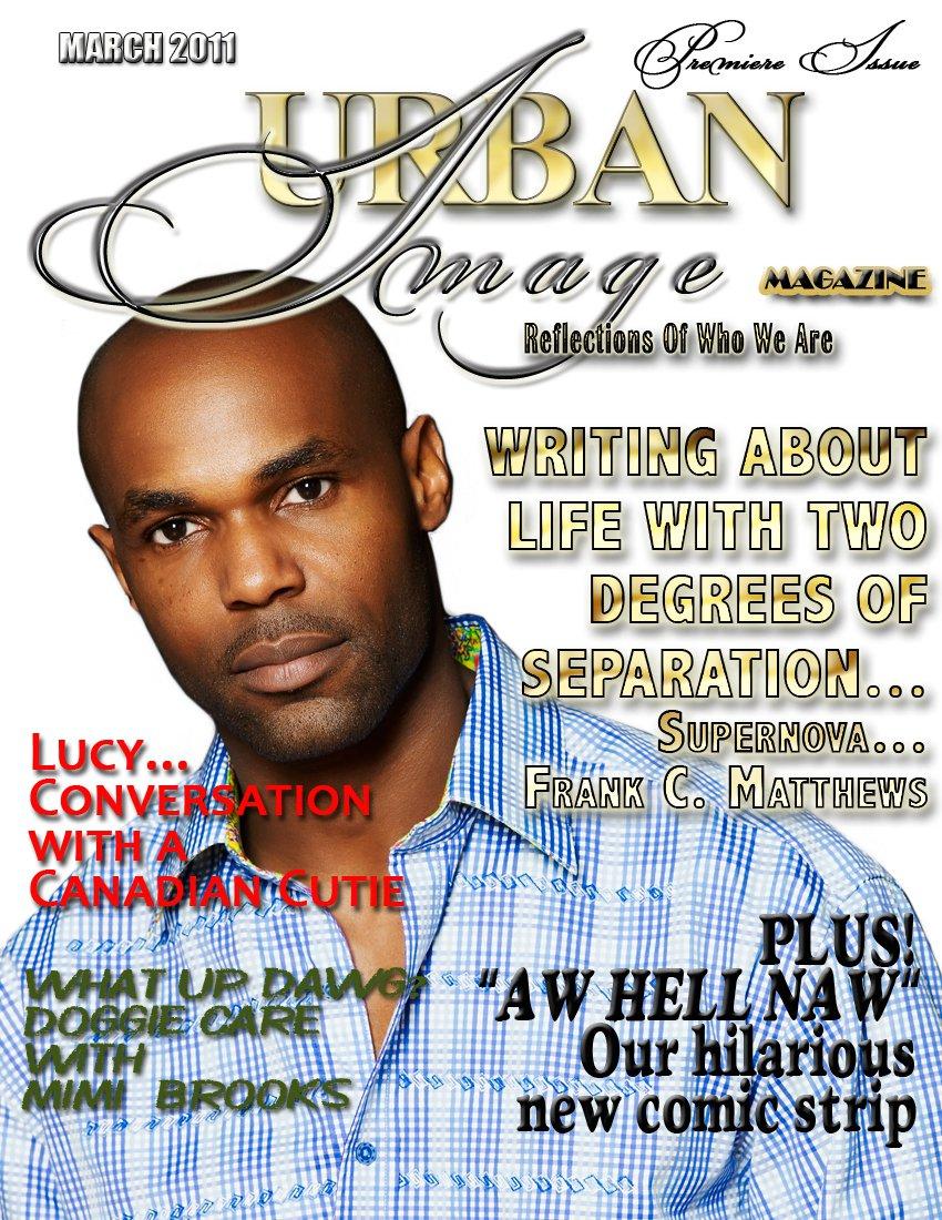 Urban Image Magazine, March Cover