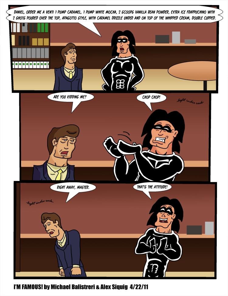 I'm Famous! webcomic 103