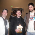 Me, James and Ben at APE 2010