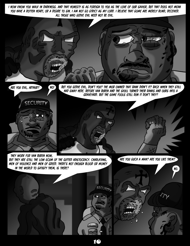 Black Snow: Two Drink Minimum page 10