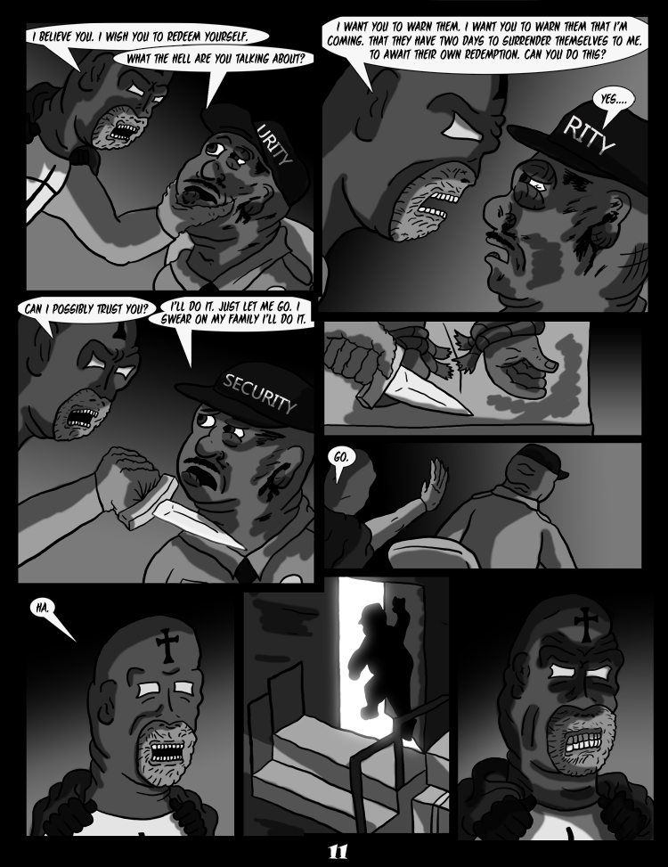Black Snow: Two Drink Minimum page 11