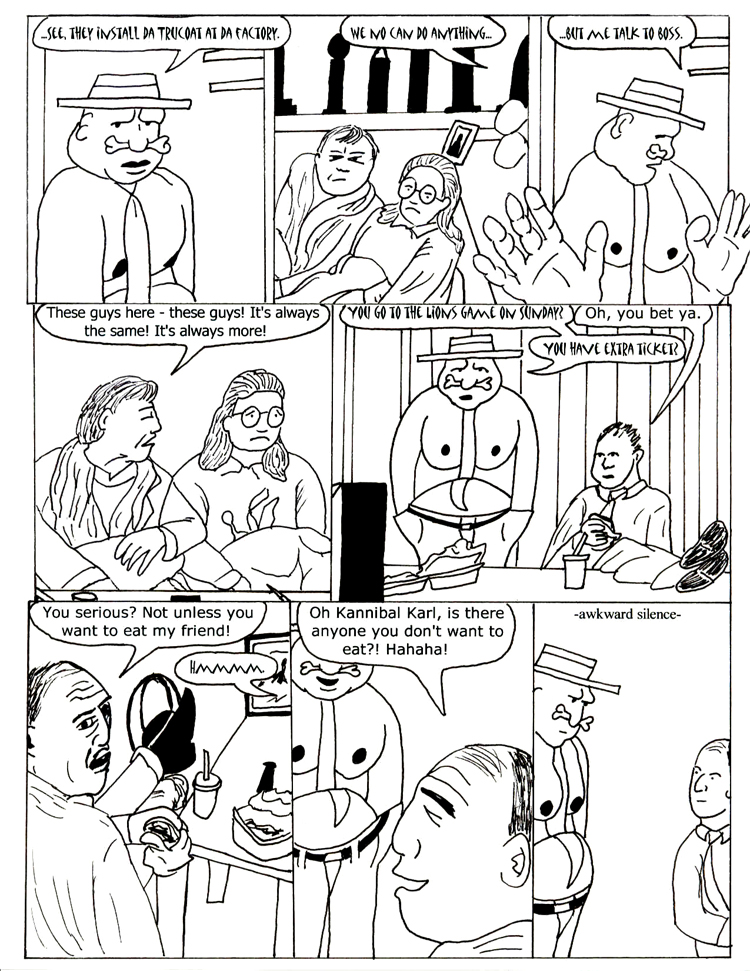 Black Snow Issue 3 page 10