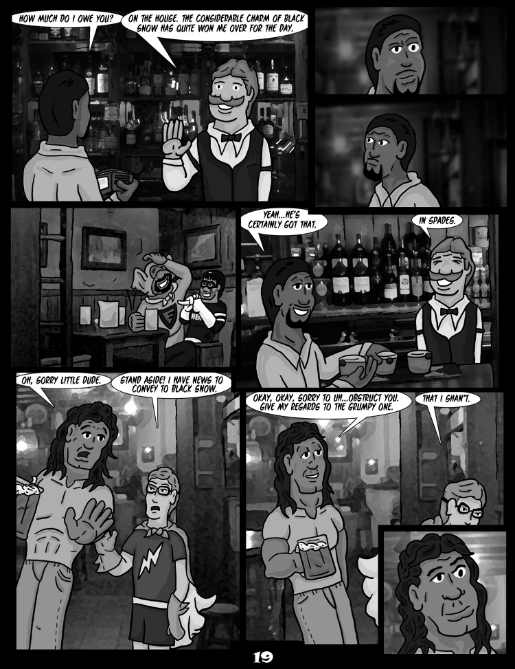 Black Snow: Two Drink Minimum page 19