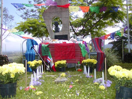 Dia De Los Muertos grave