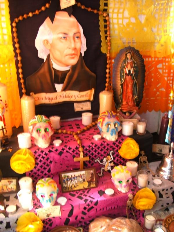 Dia De Los Muertos shrine