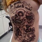 Dia De Los Muertos tatoo