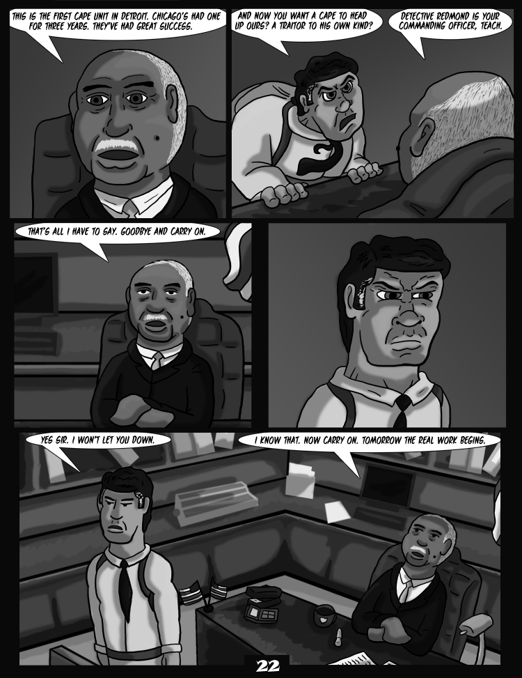 Black Snow: Two Drink Minimum page 22