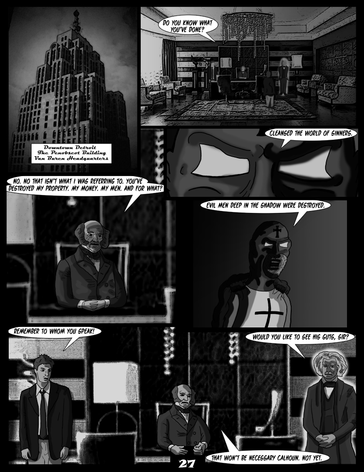 Black Snow: Two Drink Minimum page 27