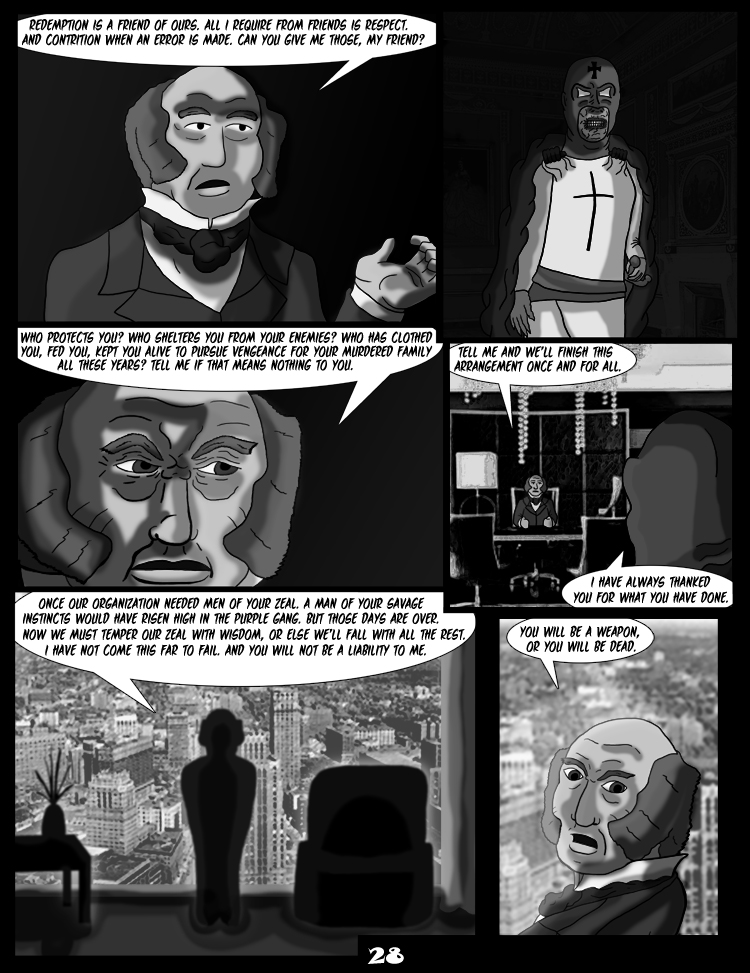 Black Snow: Two Drink Minimum page 28