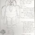 The Original Drawing of Elephant Boy