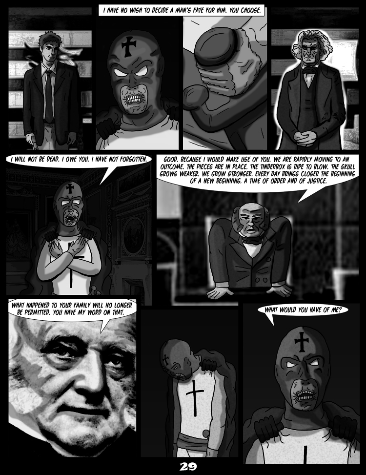 Black Snow: Two Drink Minimum page 29