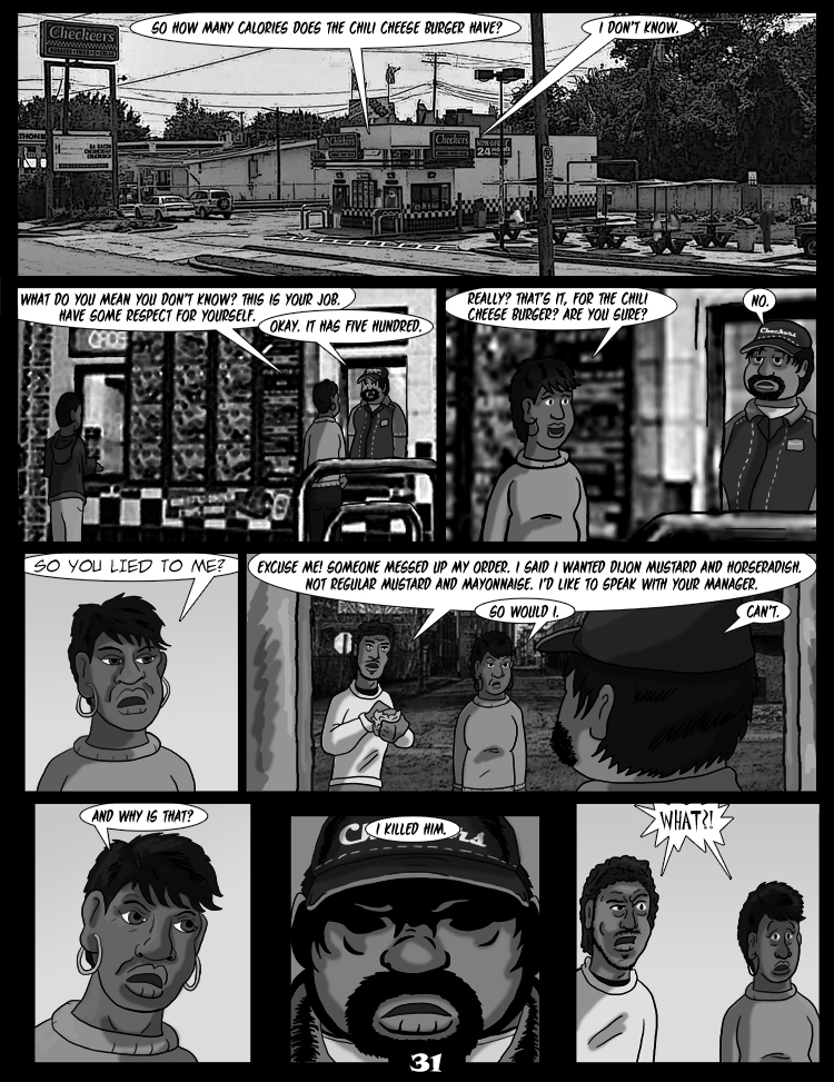 Black Snow: Two Drink Minimum Pages 31
