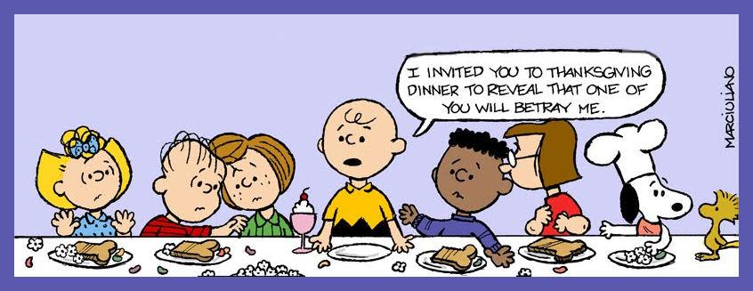 Peanuts Thanksgiving