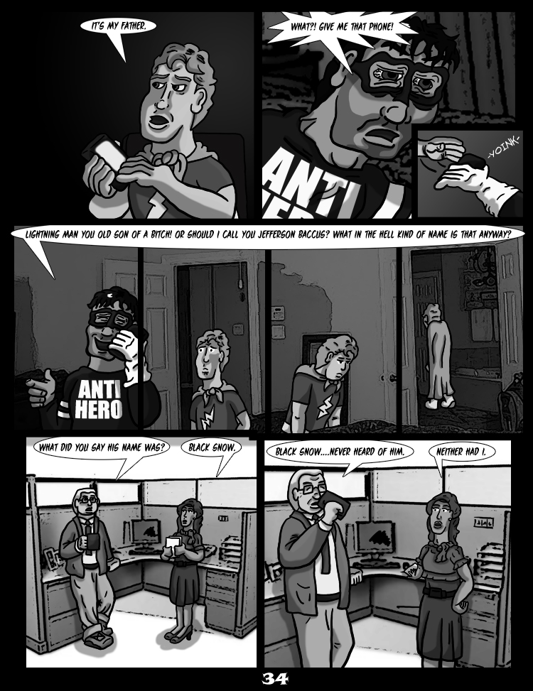 Black Snow: Two Drink Minimum page 34