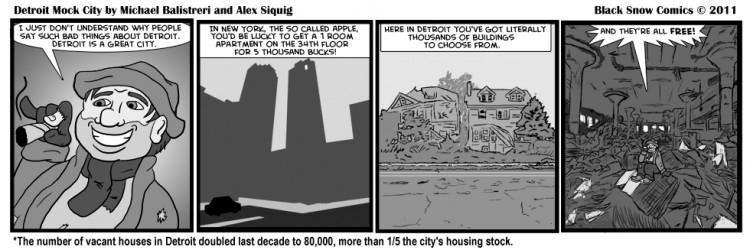 Detroit Mock City - Abandoned Homes