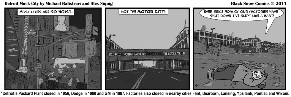 Detroit Mock City - Closed Car Factories