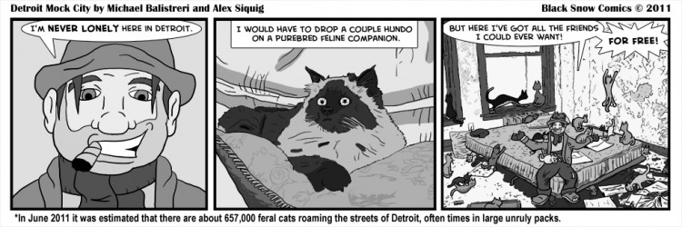 Detroit Mock City 5 - Feral Cats