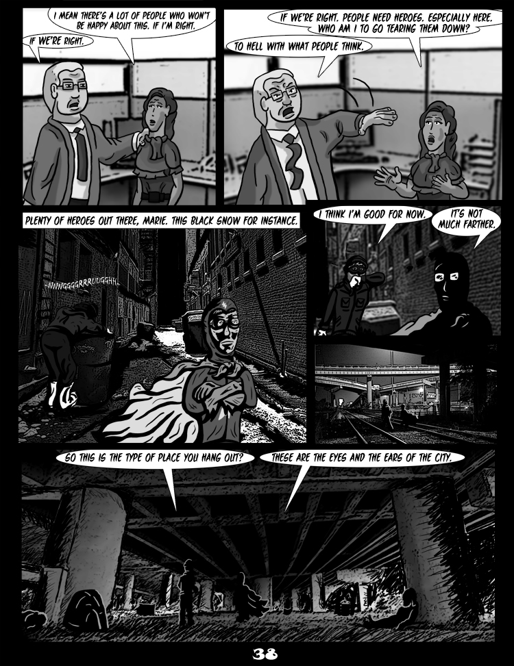 Black Snow: Two Drink Minimum page 38
