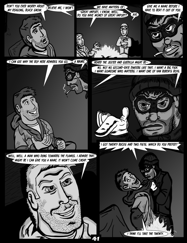 Black Snow: Two Drink Minimum page 41