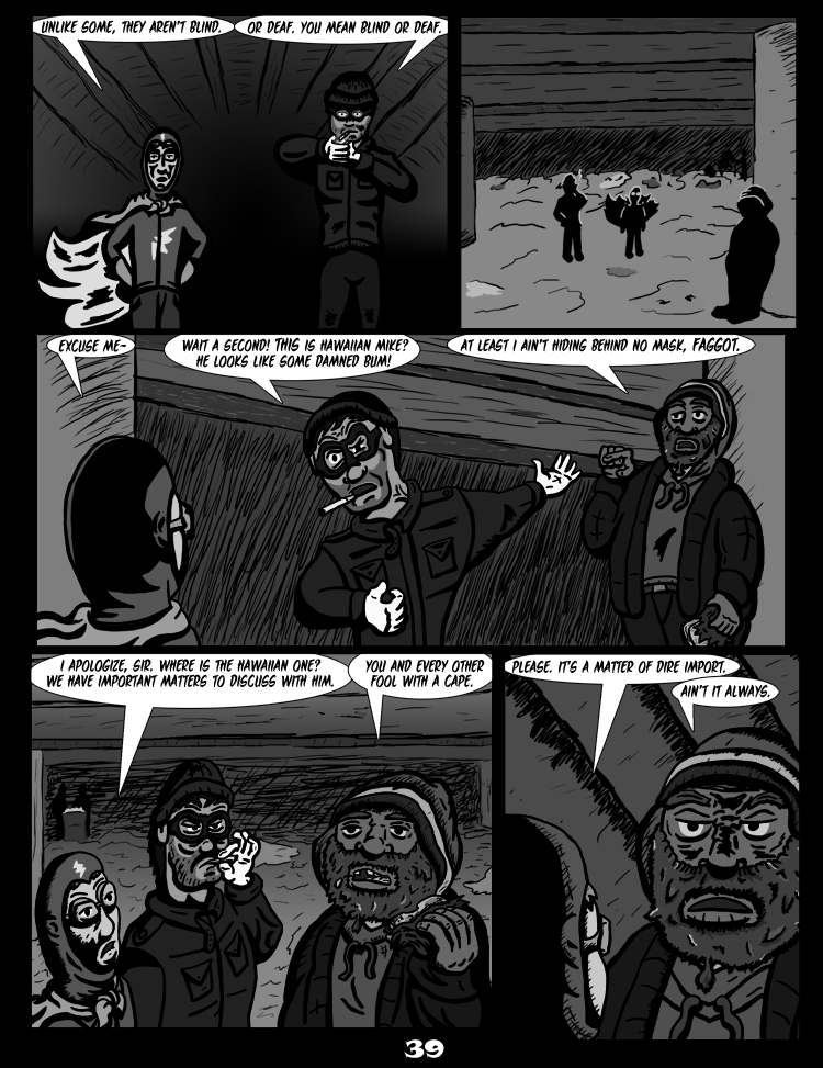 Black Snow: Two Drink Minimum page 39