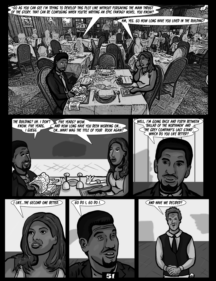 Black Snow: Two Drink Minimum page 51