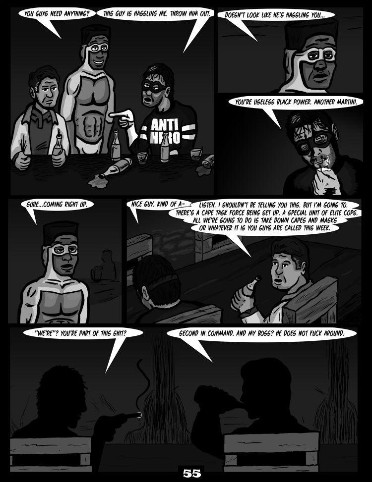 Black Snow: Two Drink Minimum page 55