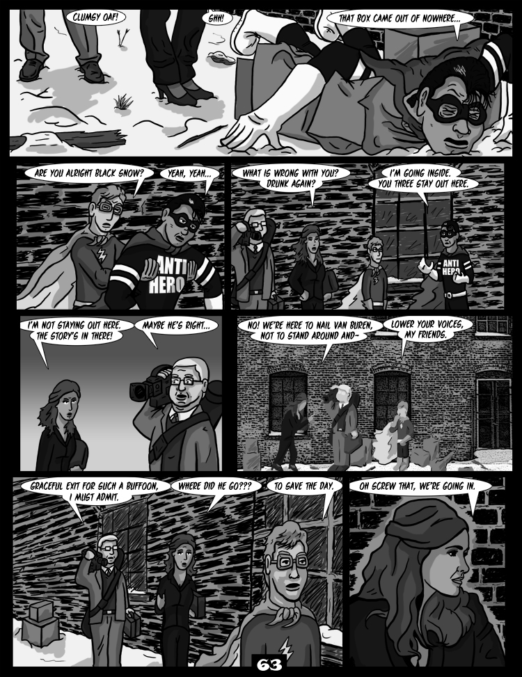 Black Snow: Two Drink Minimum page 63