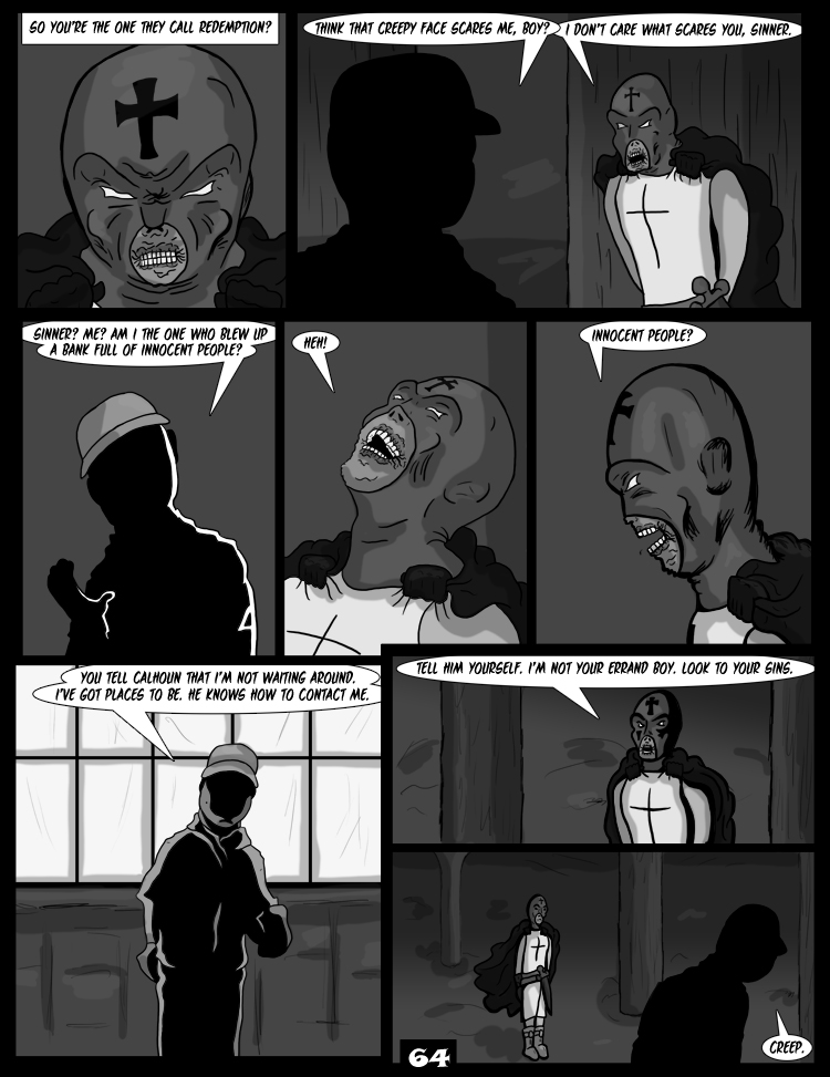 Black Snow: Two Drink Minimum page 64