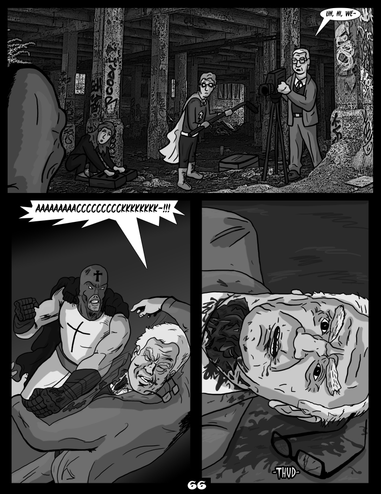Black Snow: Two Drink Minimum page 66