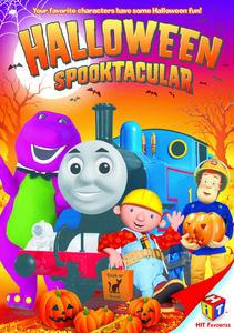 Spooktacular DVD Box Art