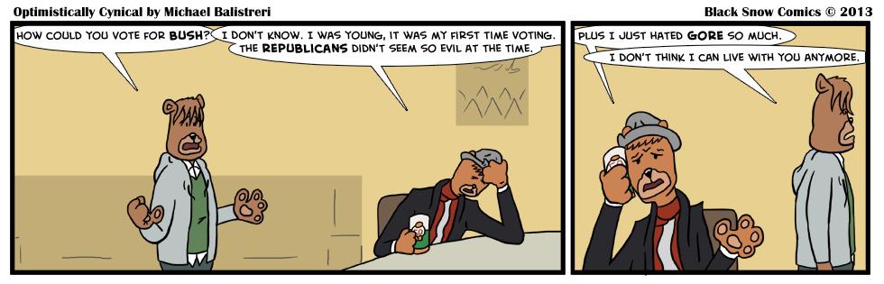Optimistically Cynical - Bush