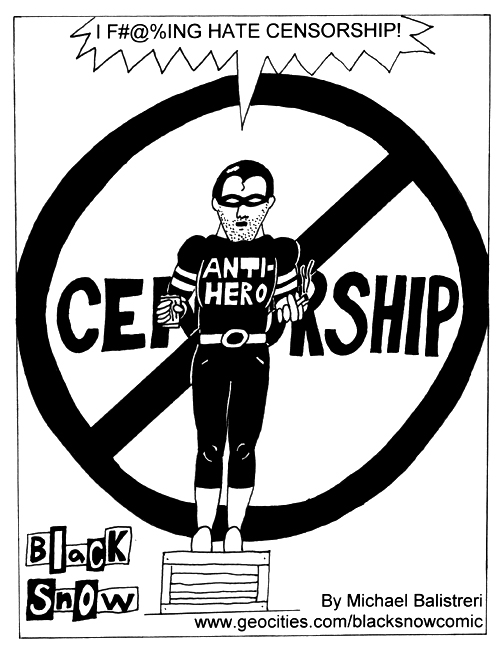 Black Snow censorship