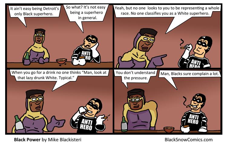 Black Power comic