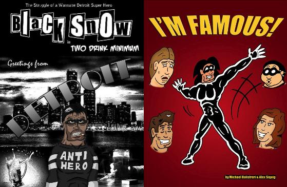 Black Snow Comics titles