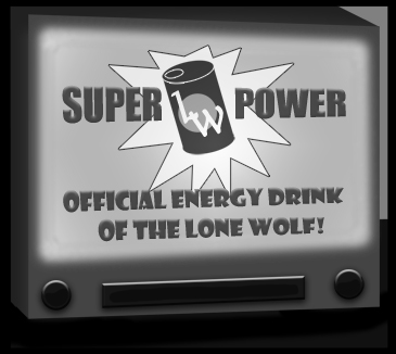 Lone Wolf's energy drink commercial