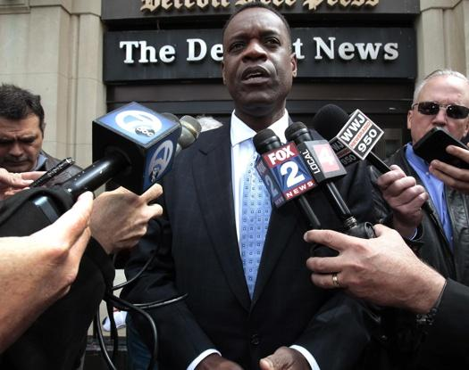 Detroit's state-appointed Emergency Financial Manager Kevyn Orr