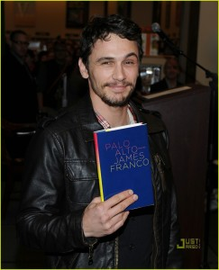 "James Franco Signs Copies of ""Palo Alto"""
