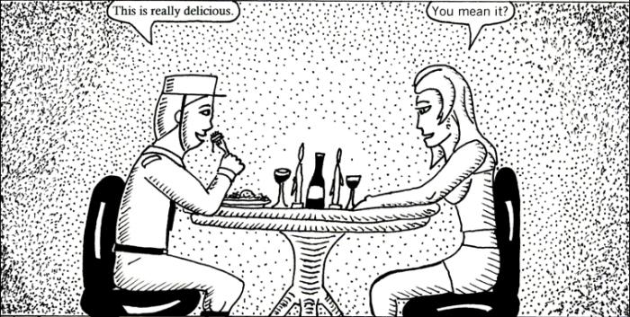 Happy Valentine's Day from Black Snow Comics