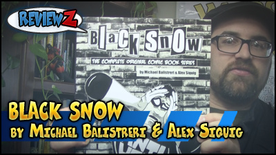Webcast Beacon Network Review of Black Snow: The Complete Original Comic Book Series