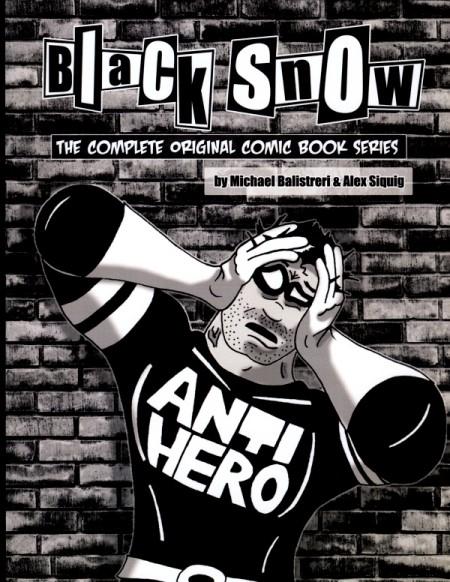 Black Snow comic book cover