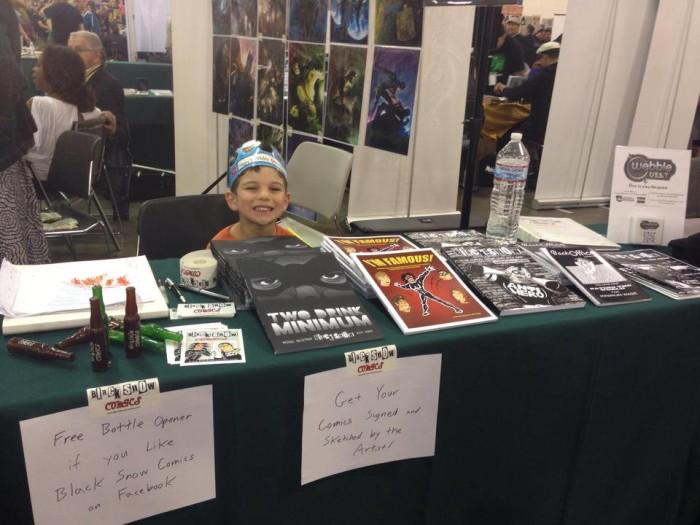 Bennett at Big Wow! ComicFest